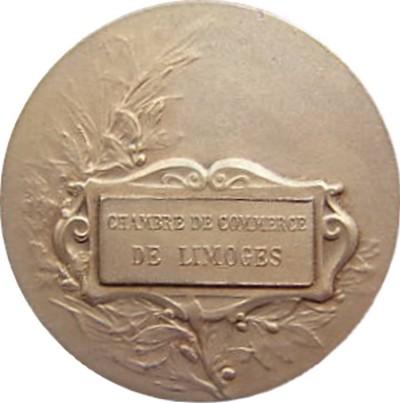 Medailles jetons limoges chambre de commerce - Chambre agriculture limoges ...